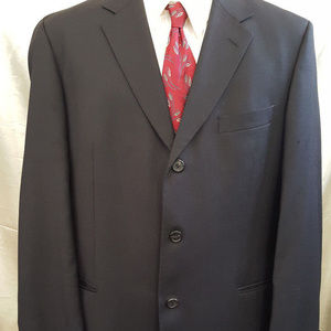 Lightweight Wool HUGO BOSS 3-Button Sport Coat 44R